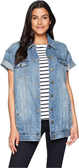 Rolled Sleeve Jean Jacket