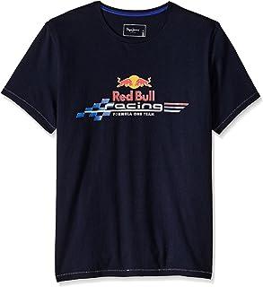 Pepe Jeans - PM501859 Quick, Camiseta Manga Corta, Hombre, Letras Red Bull, Color: Marino, Talla: M