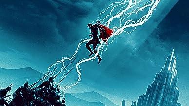 Poster Compatible With Thor Ragnarok Movie Marvel Comics DC Art Print Unframed Wall Art Print Gift Printing Wall Decor Siz...