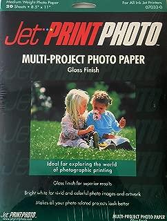 Multi-project Photo Paper Gloss Finish
