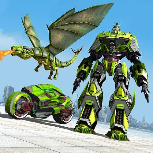 Flying Dragon: Robot Bike Simulator