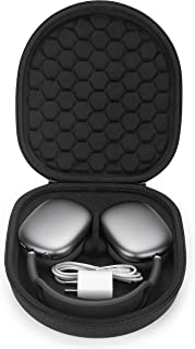 Yinke Smart Case for New Apple AirPods Max Supports Sleep Mode , Hard Organizer Portable Carry Travel Cover Storage Bag (B...