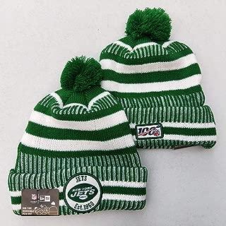 KATHLEEN 2019 New Fans hat Sideline Sport Knit Winter Pom Knit Hat Cap