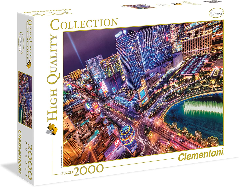 Clementoni 2000 Pc Puzzle-Las Vegas