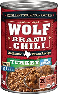 canned turkey chili without beans