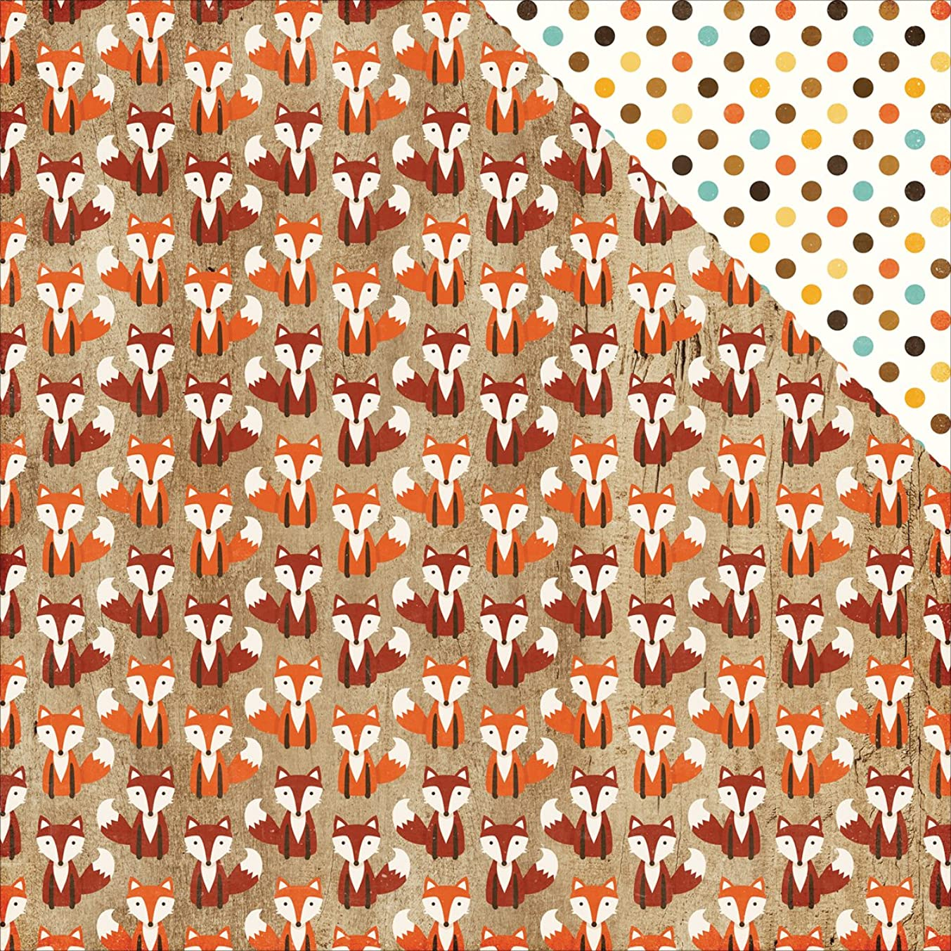 Echo Park Paper APA132006 A Perfect Autumn Double-Sided Cardstock 12