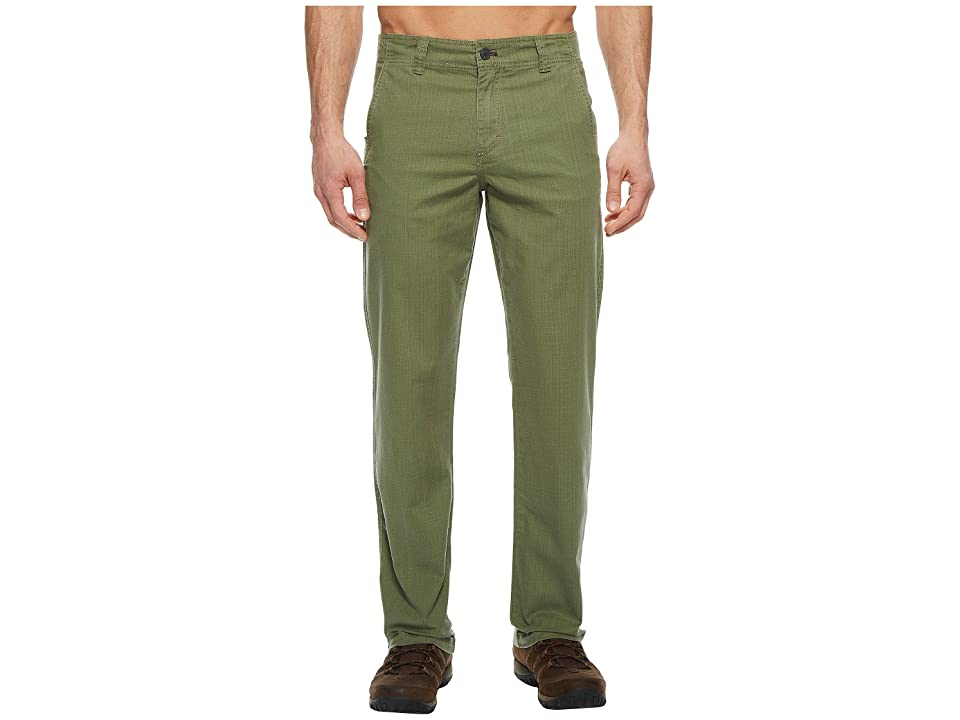 Toad&Co Benchmark Pants (Thyme) Men