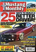 Mustang Monthly April 2011 Magazine JAY LENO'S 1965 SHELBY Install A Billet Grille REPAIR AND ADJUST MANUAL SHIFTERS Replace 1985 1986 Upholstery FOX BODY REVIVAL 1979-1993 MUSTANGS MAKE A COMBACK