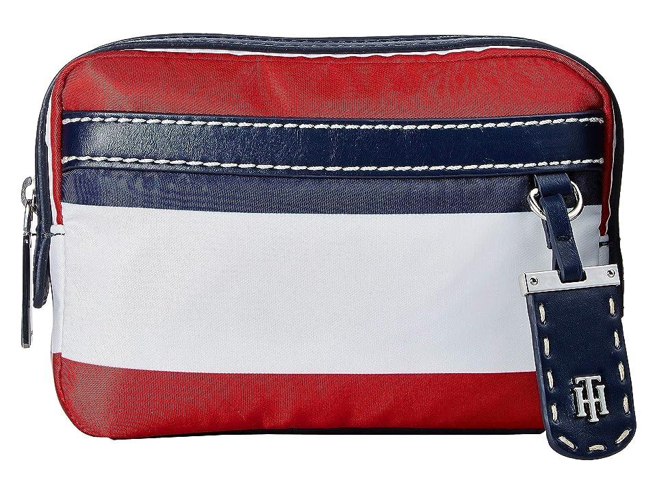 Tommy Hilfiger Julia Belt Bag (Navy/Natural) Handbags