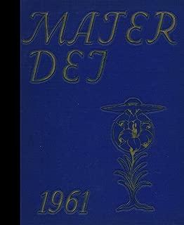 (Reprint) 1961 Yearbook: Notre Dame High School, Batavia, New York