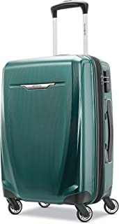 Samsonite Winfield 3 DLX Hardside Carry on Luggage with Spinner Wheels, Emerald (Green) - 120752-L413