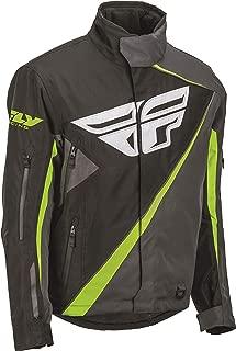 Fly Racing SNX Pro Jacket Black/Gray (Black, XXX-Large)