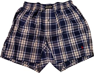Men's Classic Woven Printed Boxer (Small, Blue Mayfair...