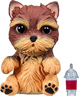 OMG Pets - Soft and Squishy Interactive Tactile Puppy Comes to Life, Cries and Eats - Styles May Vary