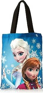 Concept One Handbags Frozen Anna and Elsa Sublimation Print Shoulder Bag