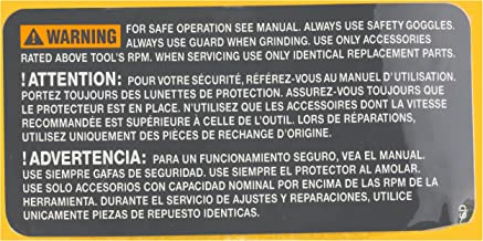 Bosch Parts 2610015358 SP Warning Label