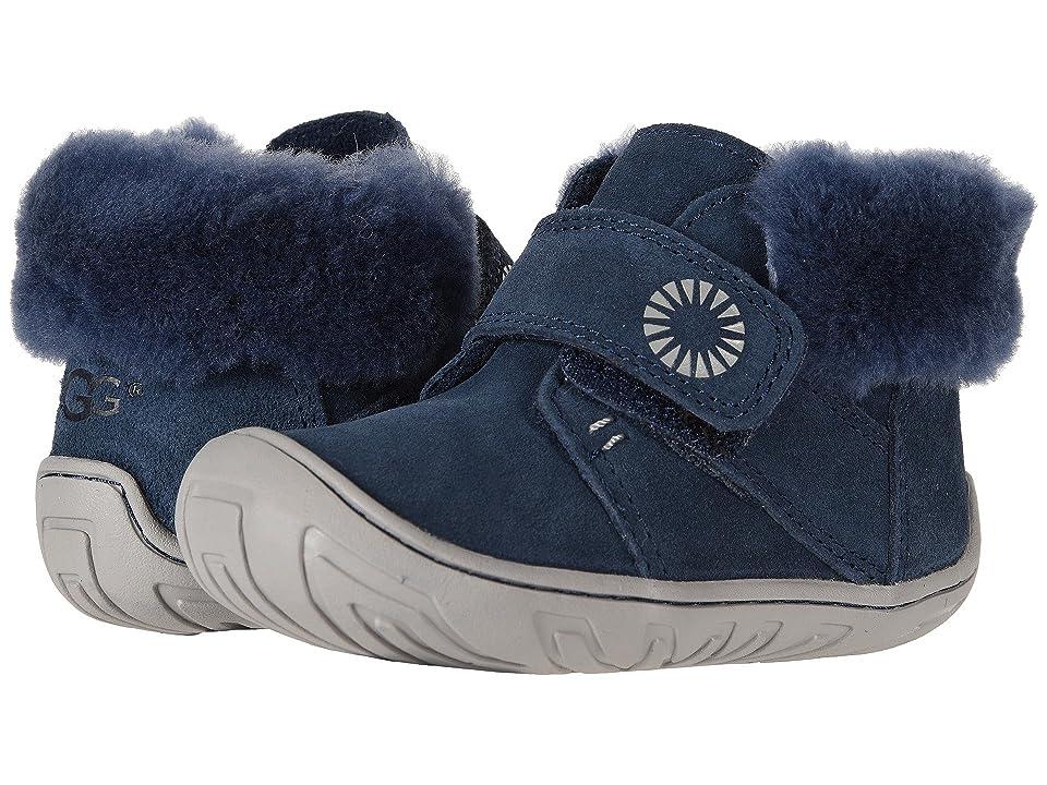 UGG Kids Jorgen (Toddler) (New Navy) Boys Shoes