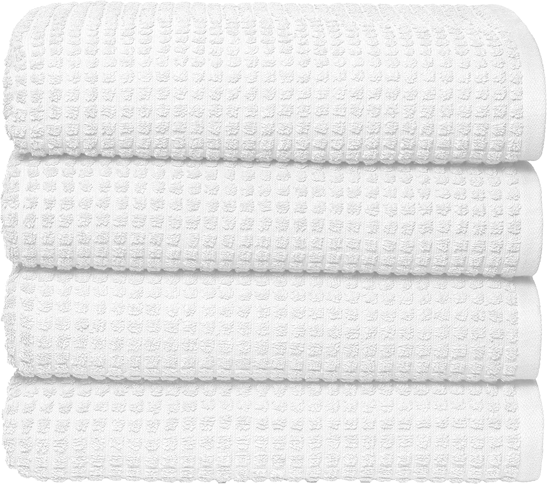 GLAMBURG Max 42% OFF 100% gift OEKOTEX Organic Cotton 4 Bath Pack Set Towel GOTS