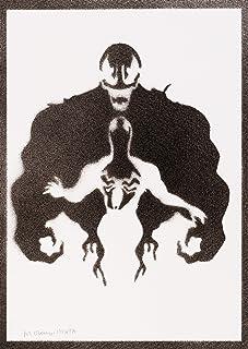 Poster Venom Grafiti Hecho a Mano - Handmade Street Art - Artwork