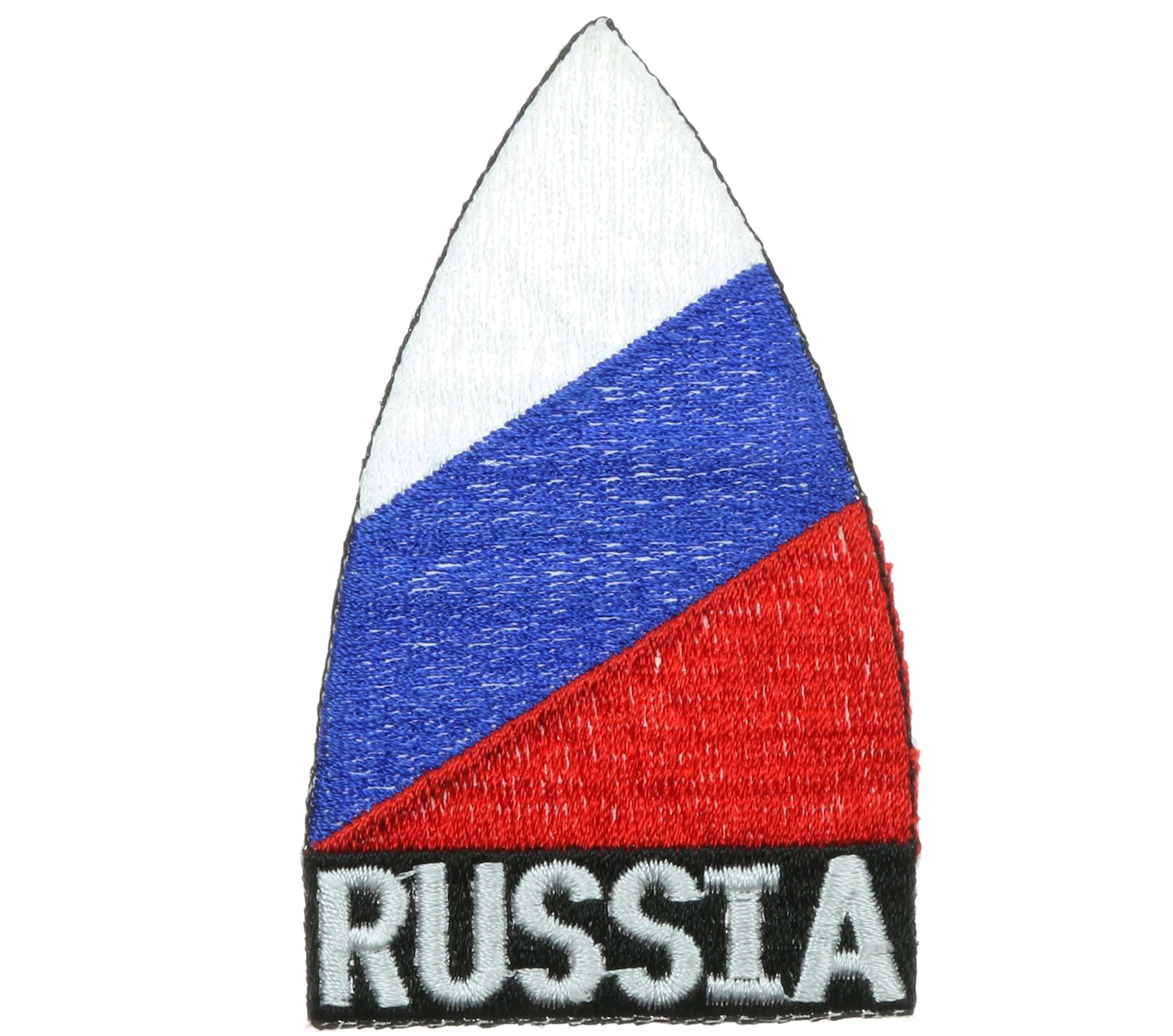 Russia Cone Flag 3.25 inch hat cap shirt patch PPM1243 by Sujak Military Items
