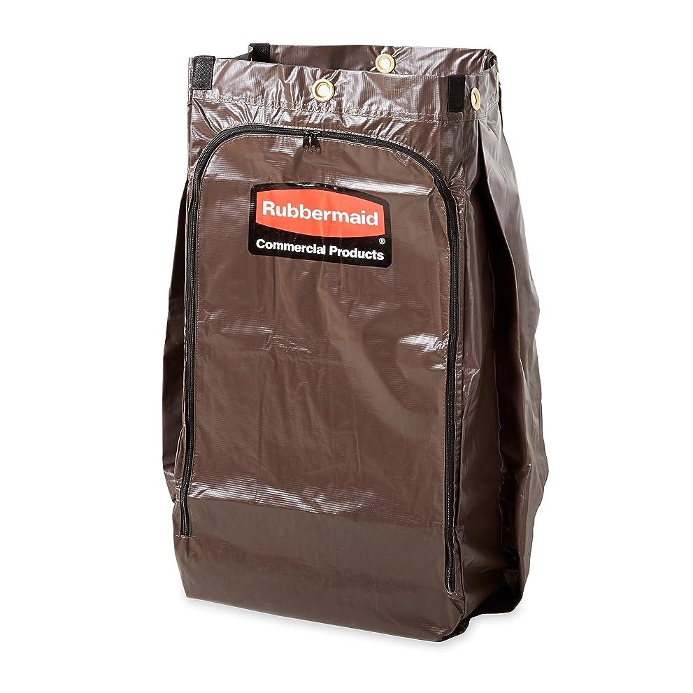 どんよりした投げるエゴマニアRubbermaid Commercial Products FG619300BRN Housekeeping Cart, Replacement Vinyl Bag by Rubbermaid Commercial Products