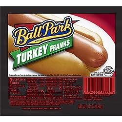 Ball Park Turkey Franks, Original Length, 8 Count