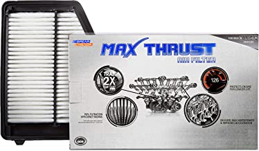 Spearhead MAX THRUST Performance Engine Air Filter For Low & High Mileage Vehicles - Increases Power & Improves Acceleration (MT-113)