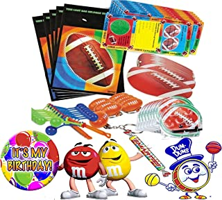 pre filled football party bags