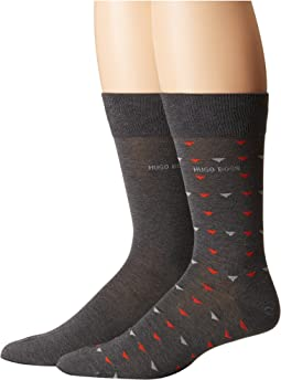 BOSS Hugo Boss - 2-Pack Crew Socks