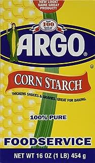 Argo Corn Starch - 16 oz. (pack of 2) 100% PURE Gluten Free