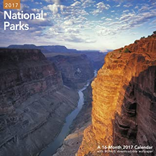 National Parks Wall Calendar (2017)