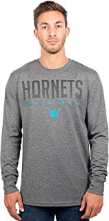 Ultra Game NBA Men's Athletic Quick Dry Long Sleeve Tee Shirt