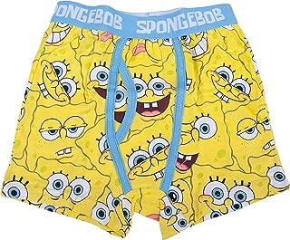 Spongebob Squarepants Multi Face Boys Boxer Briefs Two (2) Pack Boys