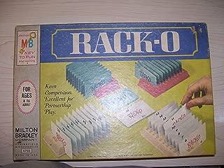 Vintage Rack-O Game 1966 Milton Bradley