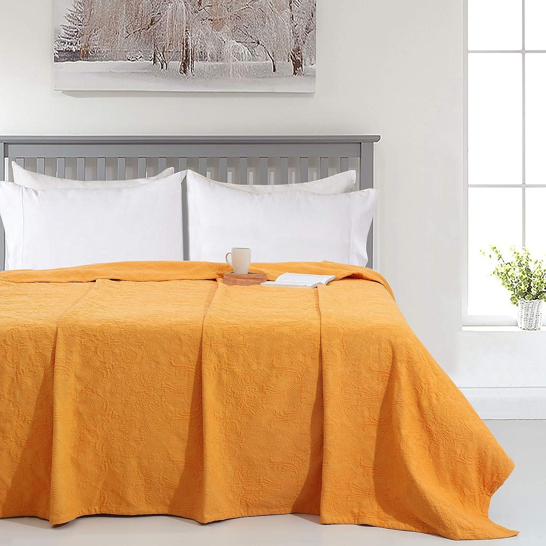 TreeWool Fresno Mall 100% Cotton Store Premium Damask Matelasse Bedspreads