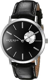 ساعة اكريبوس اكس اكس اي في للرجال بمينا AK848 وحزام جلدي