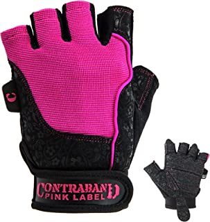 5127 Womens Vegan Weight Lifting Gloves w/Synthetic Microfiber Amara Leather (Pair) - Machine Washable Fingerless Workout Gloves Designed for Women