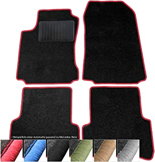 Auto-Fußmatten Limited Black für Mercedes Benz CLK W208 1997-2003 Autoteppiche