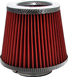 Simply AFU09 Red Mesh with Carbon Universal Air Filter