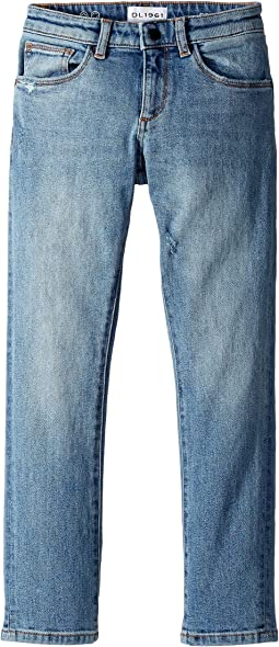 DL1961 Kids - Brady Slim Jeans in Breathe (Toddler/Little Kids/Big Kids)