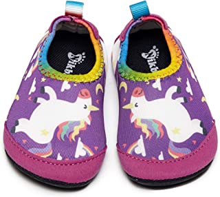 حذاء سباحة للأطفال البنات والأولاد من Nikababy جوارب مائية سريعة الجفاف لحمام الشاطئ رملي