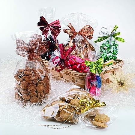 Italpak Sachets Transparentes pour les Aliments, 100 pièces, 15x25cm, X000000152500