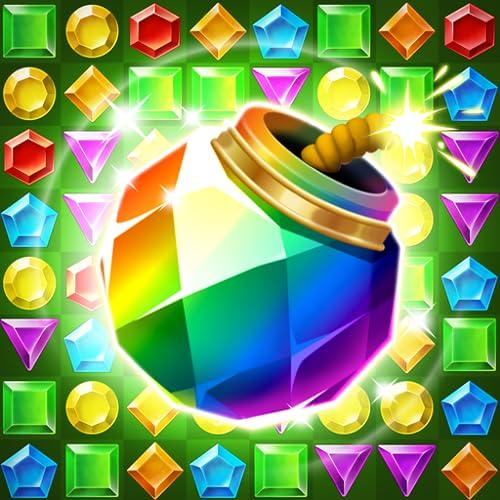 Jungle Gem Blast: Juwelen-Crush-Puzzle mit Match3