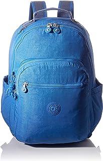 Kipling SEOUL S Sac à dos loisir, 35 cm, 14 liters, Bleu (Wave Blue)