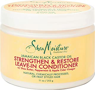 Shea Moisture Jamaican Black Castor Oil Strengthen And Grow Leave-In Conditioner For Unisex, 312 gm
