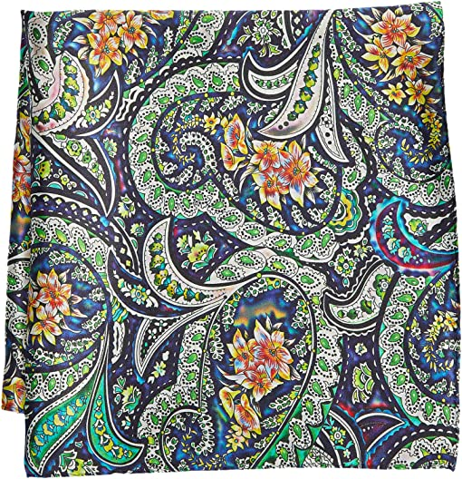 Bright Scroll Floral Multi
