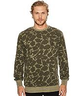 Roark - Well Worn Crew Long Sleeve Pullover Fleece