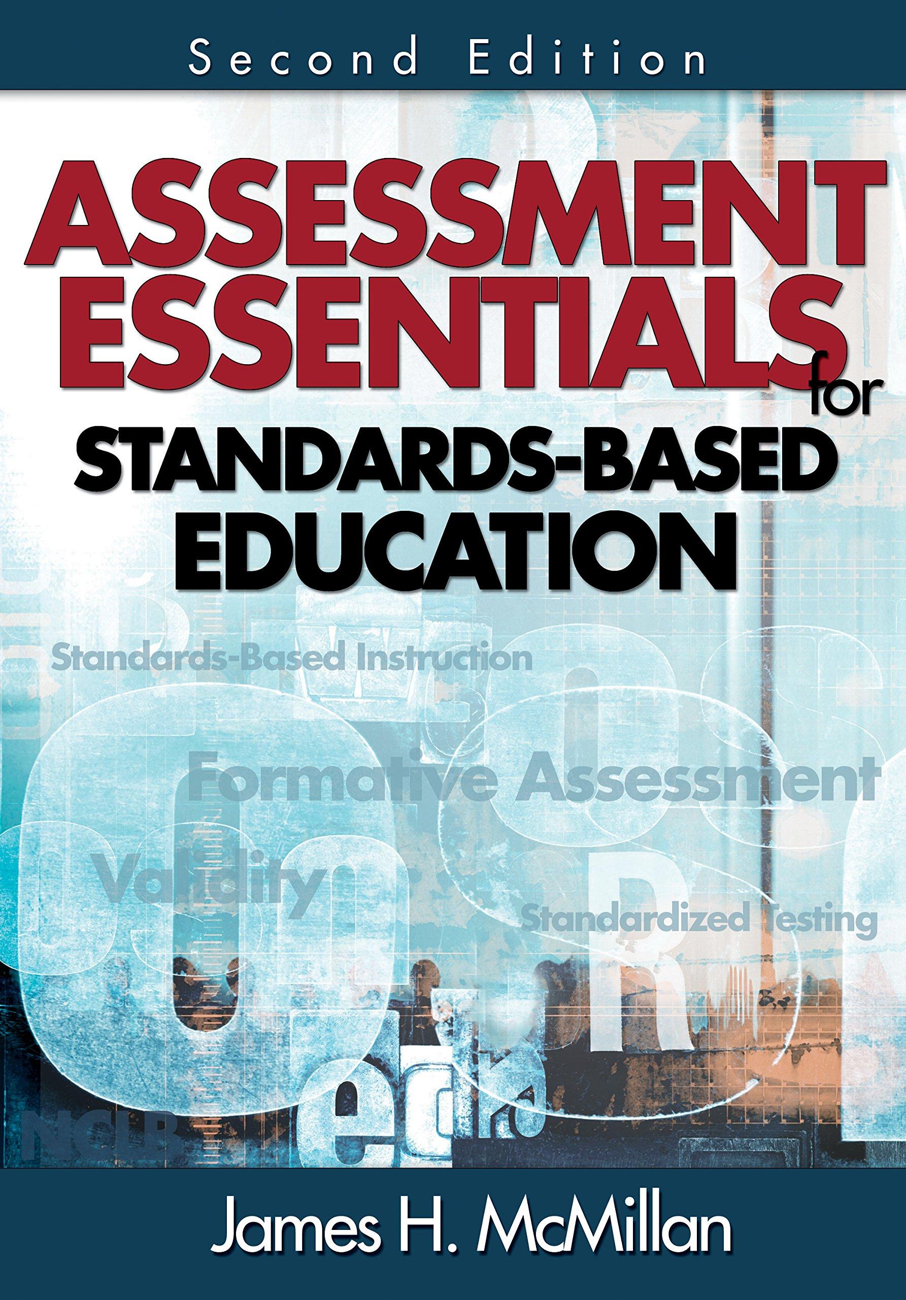 Assessment Essentials for Standards-Based Education
