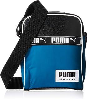 PUMA Mens Campus Portable Crossbody Bag, Blue (Digi/Blue) - 07743202