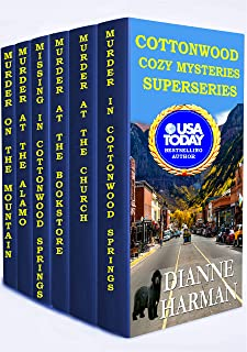 Cottonwood Cozy Mysteries Superseries: Books 1-6 (Cottonwood Springs Cozy Mysteries)